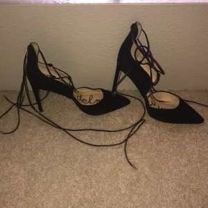 Sam Edelman strappy wrap shoes